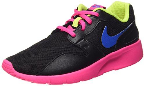 Nike Kaishi (GS), Zapatillas de Running para Niñas, Negro/Azul/Rosa/Verde (Black/Photo Blue-Pink Pow-Volt), 38 1/2 EU