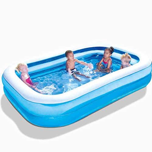 I will take action now Baby Hause Schwimmbad Verdickung Höhe Indoor Familie Erwachsenen Übergroßen Planschbecken Kinder Aufblasbare Wanne (229 * 152 * 56 cm) (Size : A)