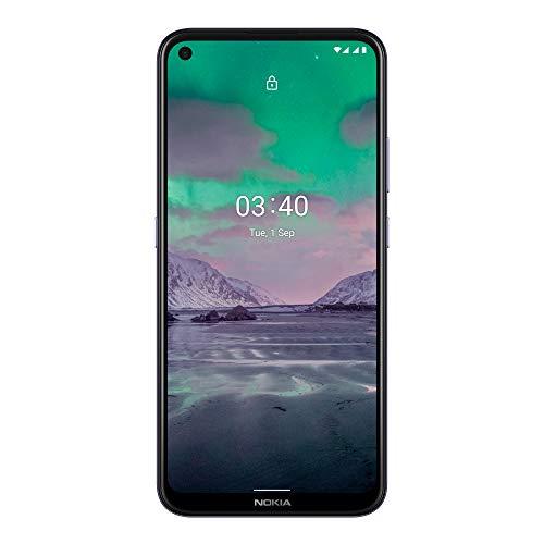 Nokia 3.4 Smartphone mit 6,39 Zoll HD+ Display, Qualcomm Snapdragon 460, 2 Tage Akkulaufzeit, Porträt- und Nachtmodus, 5MP ultraweite Kamera, robustes Design, Family Link und Android One, Dusk