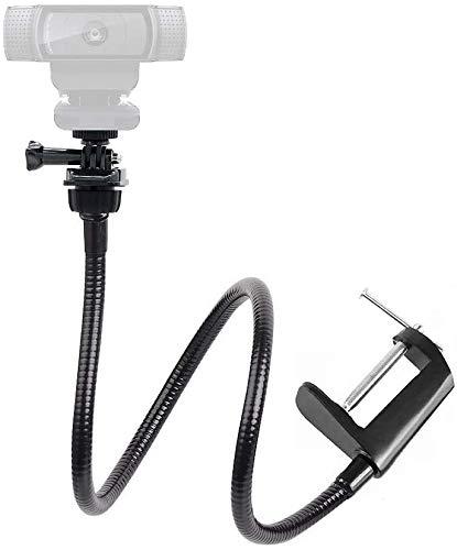 Adecuado para webcam C922x C922 C930e C930 C920 C615 25 'brazo largo mandibular flexivo montaje giratorio