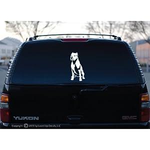 Dogo Argentino dog Vinyl Decal Big 5