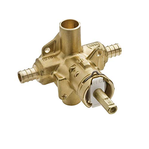 Moen 2580 Posi-Temp Brass Pressure Balancing Shower Valve, 1/2-Inch Crimp Ring PEX Connection