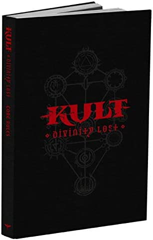 Modiphius Kult: Divinity Edition Ranking integrated 1st place Black Ranking TOP7 Lost