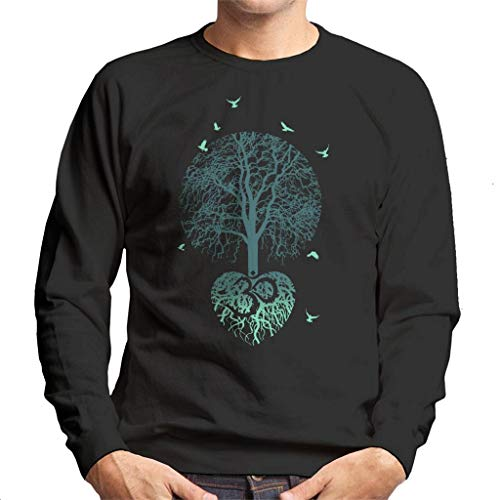 Cloud City 7 The Tree of Life Roots Men's Sweatshirt