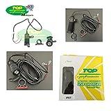 PRESA CONNETTORE CARICA BATTERIE DOPPIA USB 12 24V COMPATIBILE CON KTM 690 SUPERMOTO MOTO E SCOOTER
