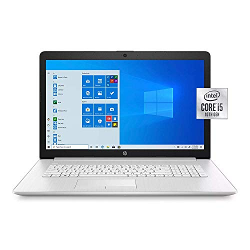 HP - 17.3' HD+ Touchscreen Laptop - 10th Gen Intel Core i5 - 8GB Memory - 256GB SSD - Numeric Keypad - DVD-Writer - Windows 10 Home