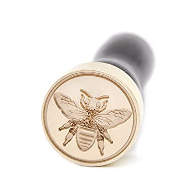 TELOSMA Bumble Bee Wax Seal Stamp for Envelopes, Invitations, Wine Packages