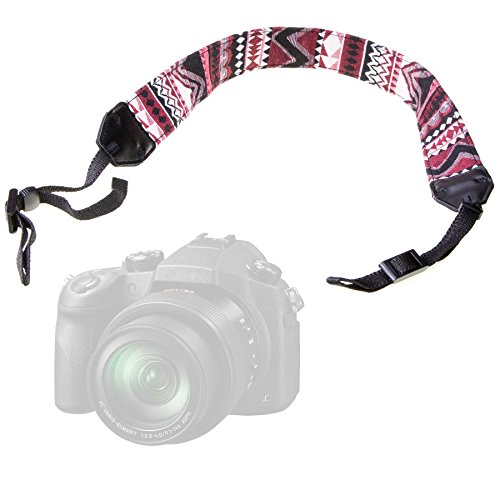 LUMOS Design Kameragurt VINTAGE | Schultergurt DSLR System-Kamera Trage Gurt Strap passend zu Canon Fujifilm Nikon Olympus Panasonic Pentax Sony