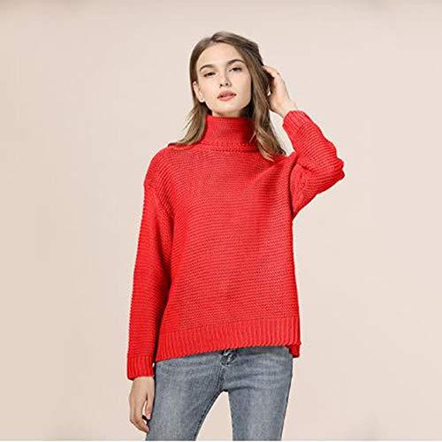 XXYQ truien herfst winter coltrui vrouwen gebreide trui plus grootte dikke warme lange mouw trui trui trui kleding Femme