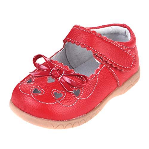 Pingtr - Babyschuhe, Kleinkind Blumen Mädchen Sandalen,Kinder Hohle Liebe Kinderschuhe atmungsaktiv weichen Boden Leder Freizeitschuhe