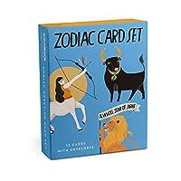 Em & Friends Zodiac Cards, Box of 12 Assorted