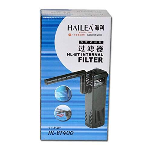 HAILEA HL-BT 400 - Filtro interior (incluye caja de carbón activo, filtro de agua dulce de mar)