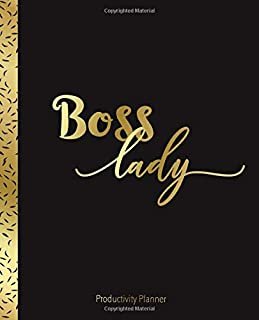 Boss Lady: Productivity Planner: Undated 365 Day Business Planner for Women Entrepreneurs | Create Action Plans to Grow Your Business | Day Planner ... on Growing your Business and Goal Tracker|