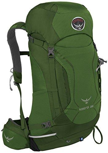 Osprey Kestrel 28 Mochila Nylon Verde - Mochila para portátiles y netbooks (Nylon, Verde, Monótono, Hombres, Cremallera, 300 mm)