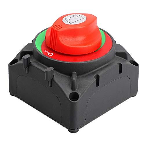 Mogzank Interruptor Maestro de BateríA Continua de 600 una para Barco Marino Yate RV ATV UTV CamióN VehíCulos Interruptor de Aislamiento de Apagado de BateríA