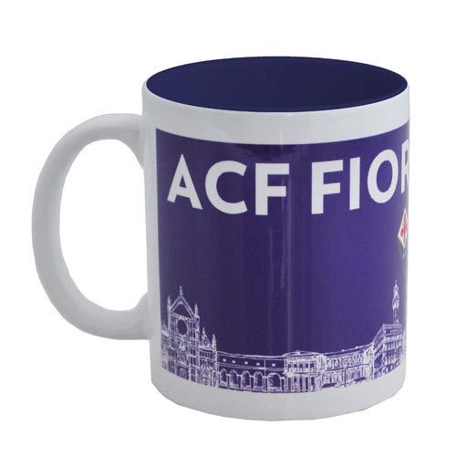 Giemme Werbeartikel - Tasse Mug Skyline Fiorentina Offizielles Produkt Geschenkidee Fußball