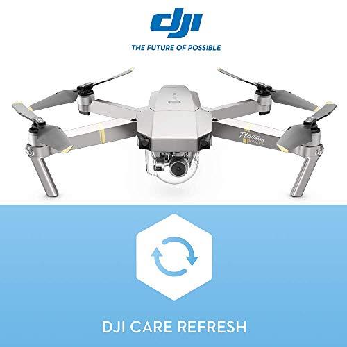 DJI- Mavic Pro Platinum Fly More Combo-Drone con Seguro Care, Cubre contra Daños, Caídas y Agua, hasta 2 Reemplazos, Válido 12 Meses y se Puede Activar Dentro de 48 Horas, Color plata (DJIMAVICPLATCOM