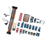 Wosune Componentes electrónicos, Kit de módulo de Sensor práctico Duradero de Inicio, Completo para Raspberry Pi Stm32