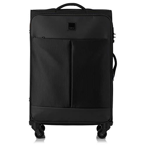 Tripp Black Style Lite Medium 4 Wheel Suitcas