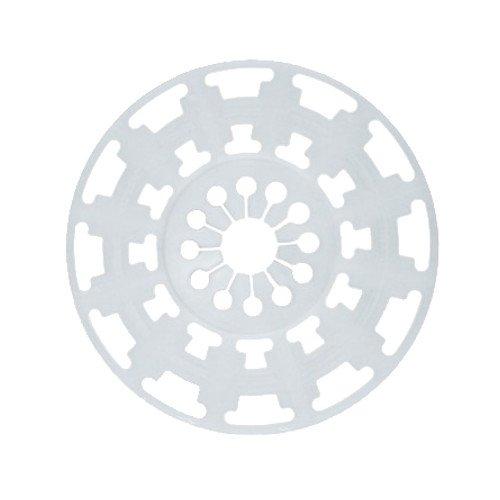 200 Dübelteller Vergrößerung 140mm für Steinwolle Dämmplatten Auflagevergrößerung Mineralwolle Dämmstoffhalter Dämmstoffdübel