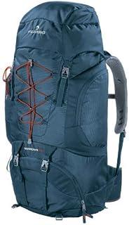 Mochila Trekking Narrows 70 litros Color Azul Marca Ferrino – Multibolsillos para óptimo organización de la carga – Ideal para senderismo o equipaje de viaje y aventura