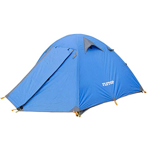 3-4 Seasons Waterproof Camping Tents for 1-2 Person Ultralight Silicone Winter Tent Backpacking Outdoor Mountaineering and Single Person Travel Tent
