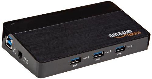 AmazonBasics USB-3.0-Hub, 10Anschlüsse