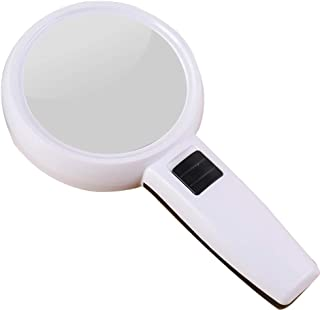 30XLED with Lightweight Portable Portable Elderly Man with Yellow Spot Degradation Weak Eyesight Reads A Magnifier (Color ...
