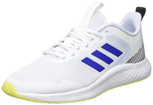 adidas FLUIDSTREET, Zapatillas de Running Hombre, FTWBLA/AZUREA/AMAACI, 48 EU