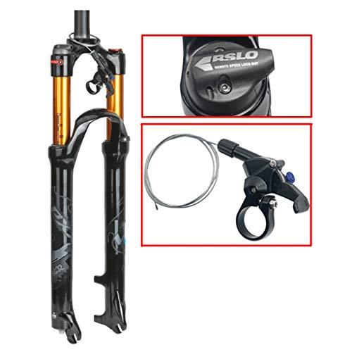 """pas cher un bon MZPMTB Mountain Bike Suspension Fork 2627.529 """"Fourche droite pneumatique 1-1 / 8 ″…"""