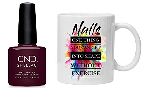 CND Shellac ICONIC COLLECTION 2020 Nagellack Gellack & Tasse und Geschenkbox - SPIKE
