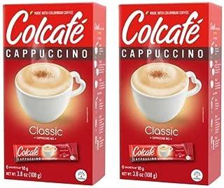 Colcafé Cappuccino Classic Box 3.8 OZ - Pack of 2