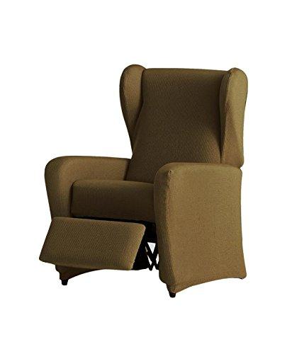Eysa - Funda de sillón Relax elástica Ulises - Color Tostado