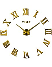ساعة حائط بدون منبه ، انالوج - بطارية AA