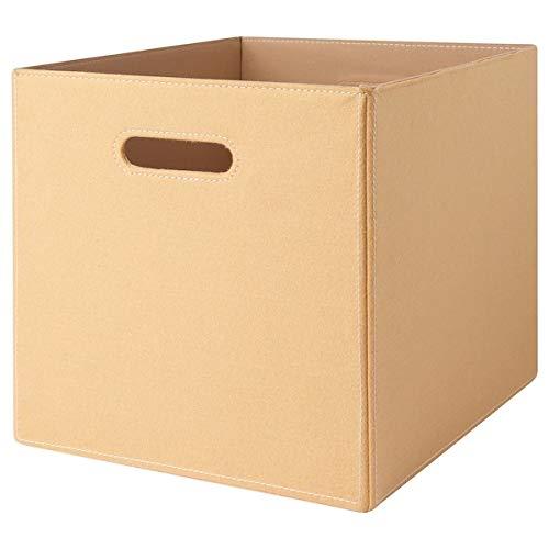 IKEA Bläddra Aufbewahrungsbox Bok Kiste passend für Kallax und Expedit - 33x38x33 cm - beige
