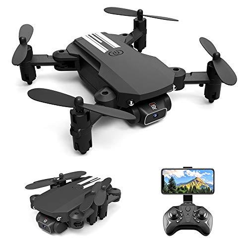 GoolRC LS- MIN Mini Drone con cámara 4K RC Quadcopter 13mins Tiempo de Vuelo 360 ° Flip Gesto Foto Video Pista Vuelo Altitud Control de Retención Remoto sin Cabeza Drone para Niños Adultos 1 Batería