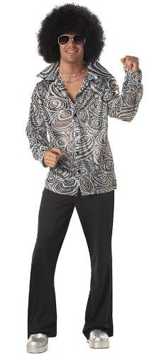 Mens Disco Shirt - L