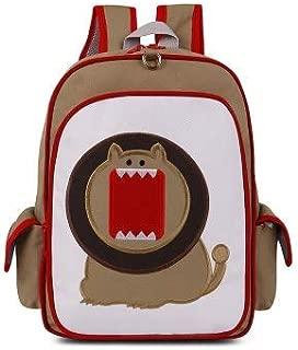 JXSHQS Children's Backpack Kindergarten 3-6 Years Old Schoolbag Boys and Girls Cartoon Shoulder Bag Burden Backpack Children's School Bag (Color : Khaki)
