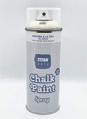 Titan - Chalk Paint Spray 400 ml 'pintura ecológica' (202 Bachata Blanca)