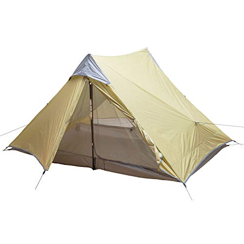 Arches Ultralight Trekking Pole Tent and Footprint - Perfect for Thru-Hikes, Backpacking, Kayaking, and Bikepacking (1P)