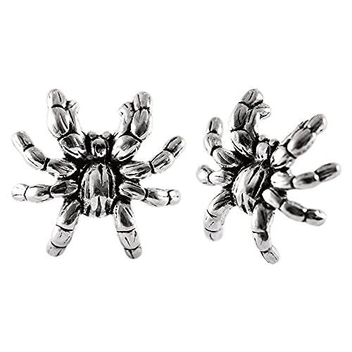 Petite AraignéE Boucles doreilles Clou Argent Sterling 925 F