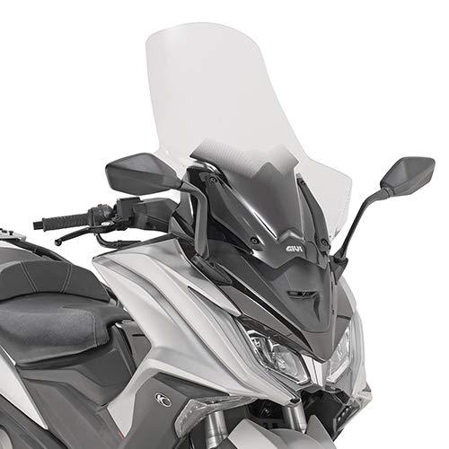 D6110ST|416 Windschutzscheibe Visier Windschutz GIVI kompatibel mit Kymco AK 550 2019 Motorrad Scooter