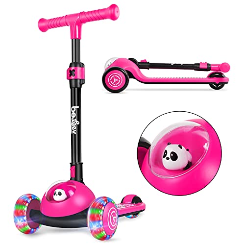 Beleev 3 Wheel Folding Scooter for Toddlers