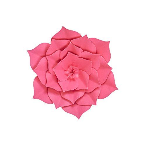 SKYLANTERN Fleur en Papier Gardénia Fuchsia 20 cm