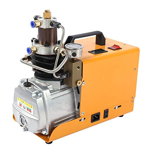 Bomba del compresor de aire del inflador de 4500psi 30mpa Calidad estricta Larga vida útil Bomba eléctrica hembra de conexión rápida para sistema(220V European standard)
