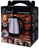 Ozoy Automatic Stainless Steel Electric Kettle with Auto Shut Off Multipurpose Extra Large Cattle Electric with Handle Hot Water Tea Coffee Maker Water Boiler, Boiling Milk