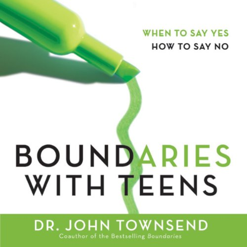 Boundaries with Teens audiobook cover art