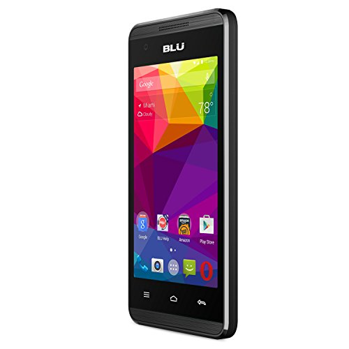 "BLU Energy JR - 4.0"" GSM Unlocked Smartphone -3,000 mAh Battery - Black"