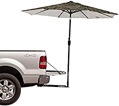 Tailbrella Tailgate Hitch Umbrella Canopy for Truck SUV Tailgater. 9FT Large Water-Resistant Tailgating Tents for Outdoor Camping, Beach, Travel, Hunting. EZ Pop Up, Umbrellas for Shade