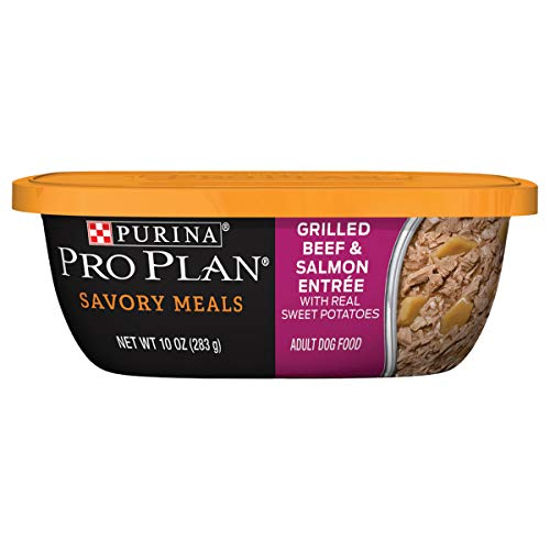 Purina Pro Plan Wet Dog Food, Savory Meals Braised Beef Entree With Wild Rice - (8) 10 oz. Tubs Review
